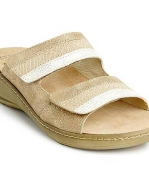 Zlaté sandále Batz