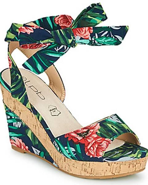 Viacfarebné sandále Les Petites Bombes