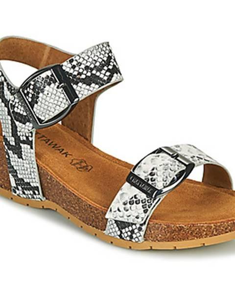 Biele sandále Chattawak