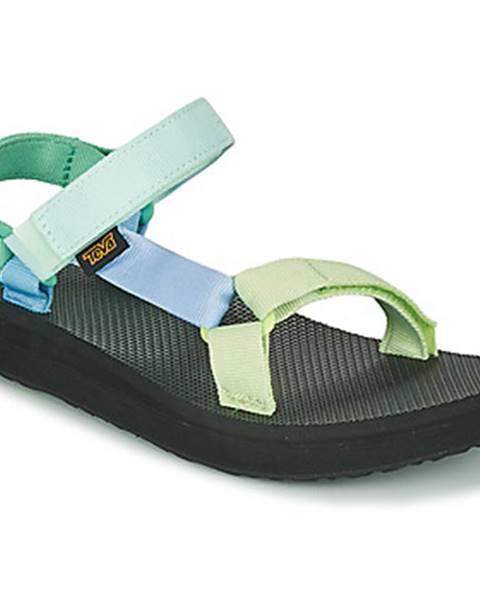 Zelené sandále Teva