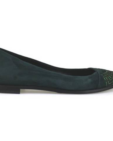 Zelené balerínky Fabi