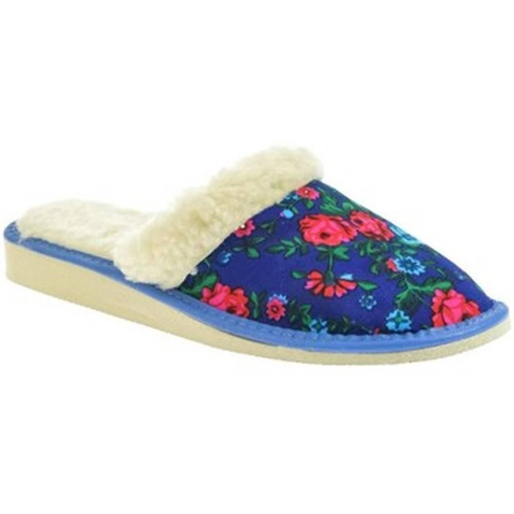 John-C Papuče John-C  Dámske modré papuče SONIA