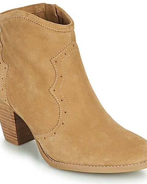 Béžové topánky Ikks