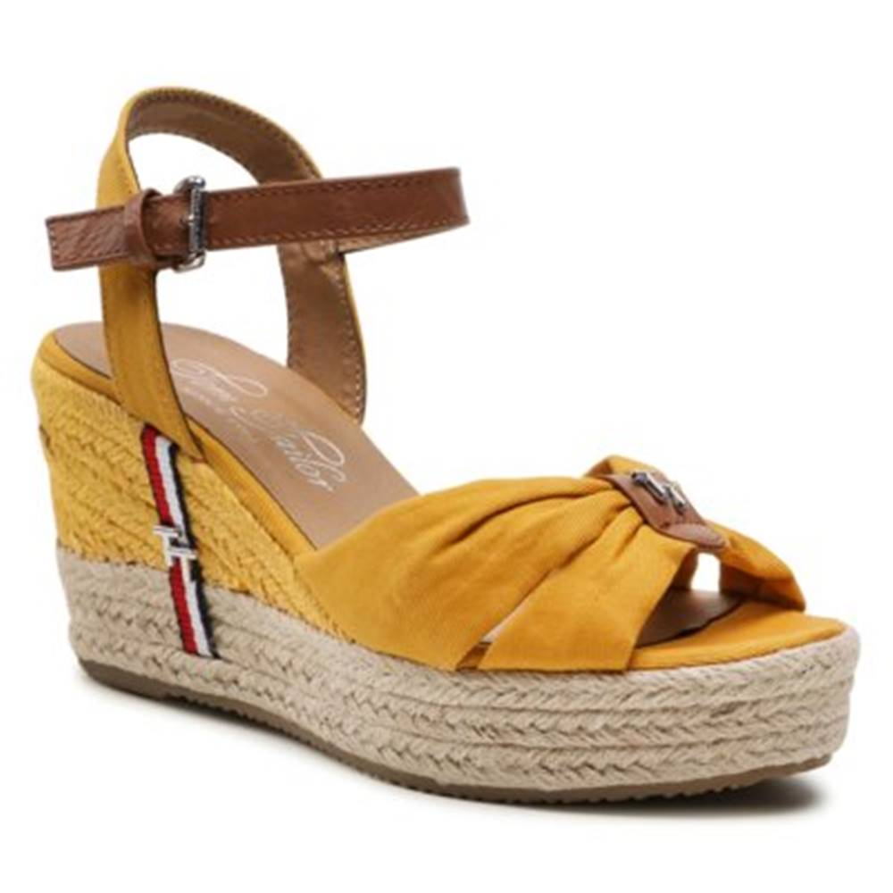 Tom Tailor Sandále Tom Tailor 119070100 Ekologická koža/-Ekologická koža