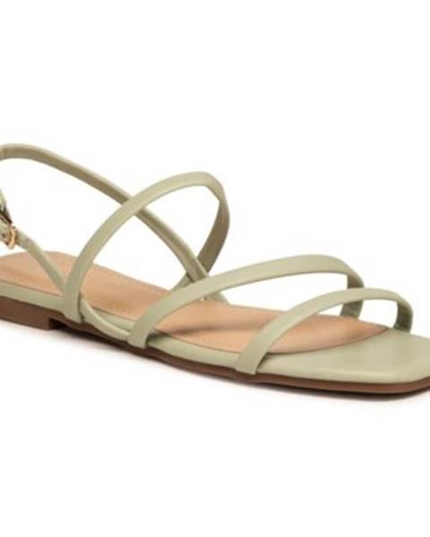 Zelené sandále Jenny Fairy