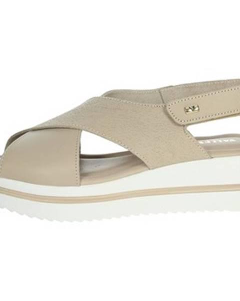 Béžové sandále Valleverde