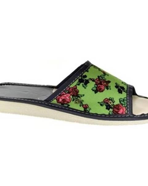 Zelené papuče John-C