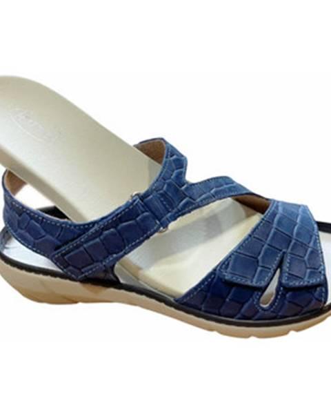 Modré sandále Calzaturificio Loren