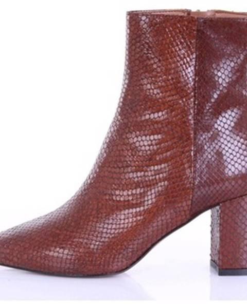 Hnedé topánky Bianca Di