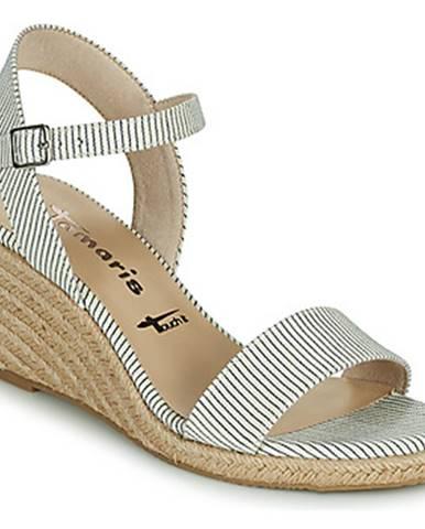 Modré sandále Tamaris