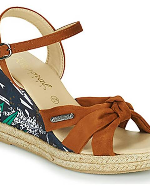 Hnedé sandále Kaporal