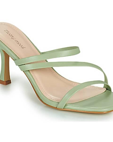 Zelené topánky Moony Mood