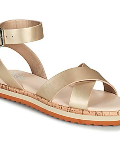 Zlaté sandále Bullboxer
