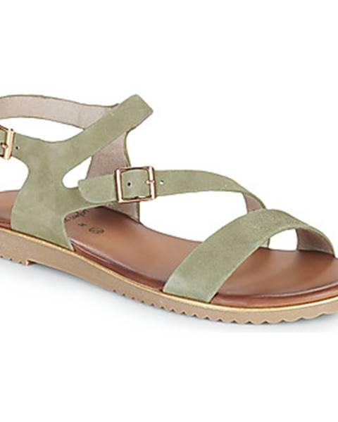 Zelené sandále Jana