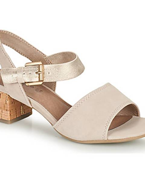 Béžové sandále Jana