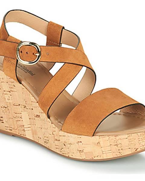 Hnedé sandále NeroGiardini