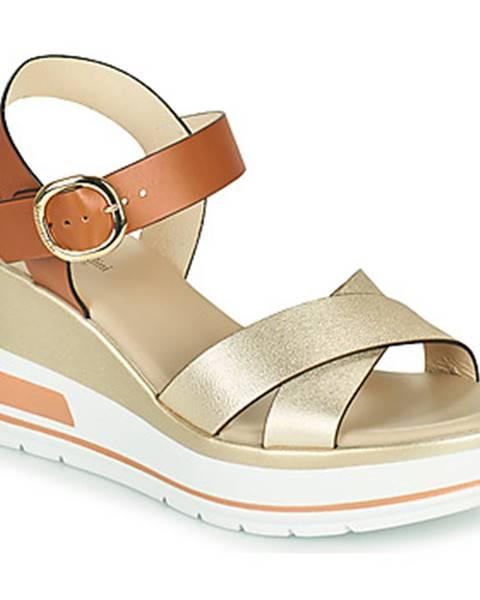 Zlaté sandále NeroGiardini