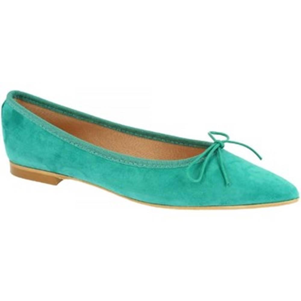Leonardo Shoes Balerínky/Babies Leonardo Shoes  NA ELBA 6 CAM TURCHESE