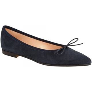 Balerínky/Babies Leonardo Shoes  ELBA 6 CAMOSCIO BLU