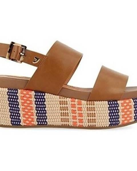 Hnedé sandále Gioseppo