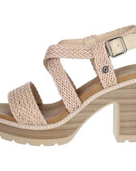 Ružové sandále Carmela