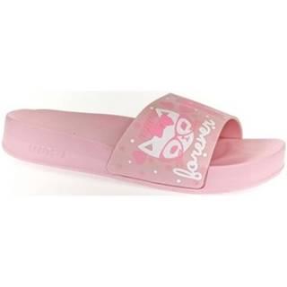 športové šľapky  Dámske ružové šľapky PARRI