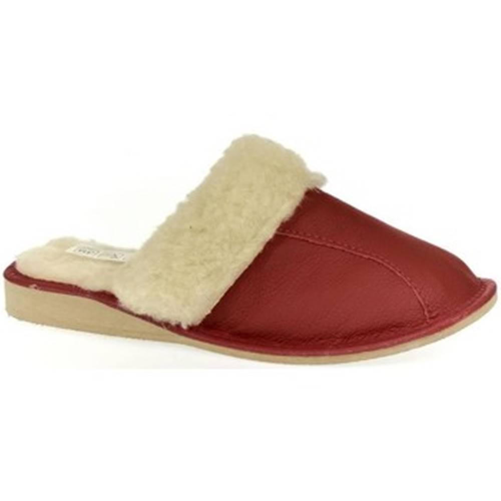 John-C Papuče John-C  Dámske červené papuče GITA