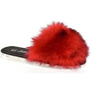 Papuče John-C  Dámske červené papuče ALICA