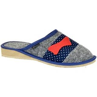 Papuče John-C  Dámske sivé papuče ROSIA