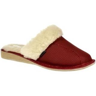 Papuče Just Mazzoni  Dámske luxusné kožené papuče GITA