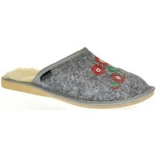 Papuče Just Mazzoni  Dámske sivé papuče PETRA