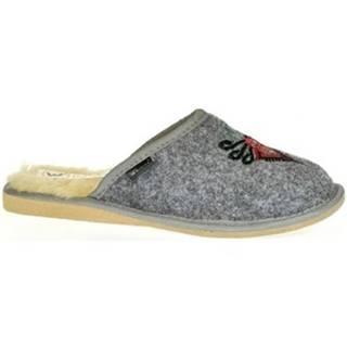 Papuče Just Mazzoni  Dámske sivé papuče ROMANA