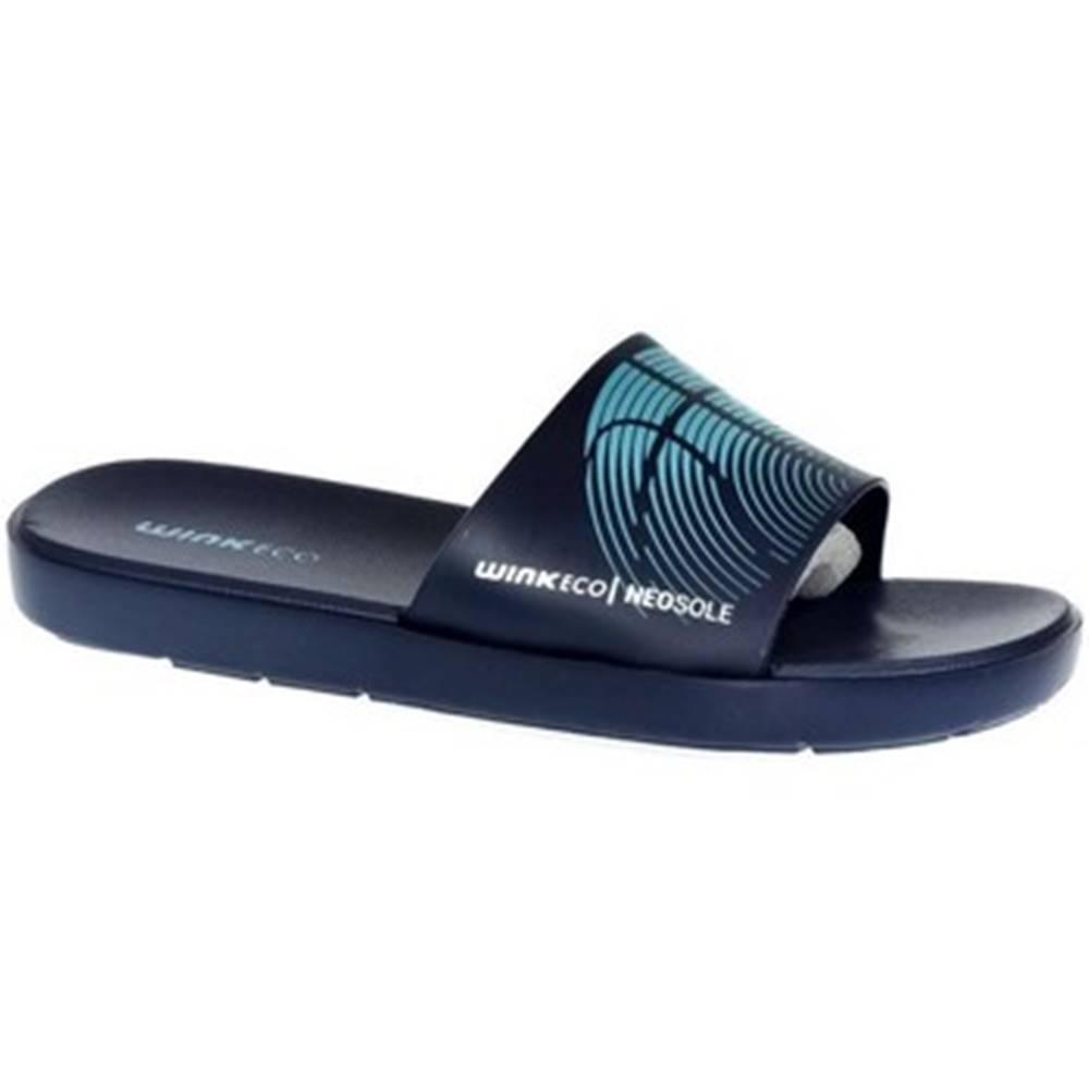 Wink športové šľapky  Pánske modré šľapky  SAMERS