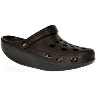 Nazuvky John-C  Pánske čierne crocsy EXTE