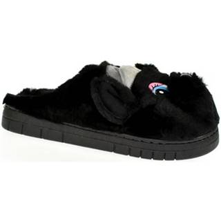 Papuče Seastar  Dámske čierne papuče KAYLA