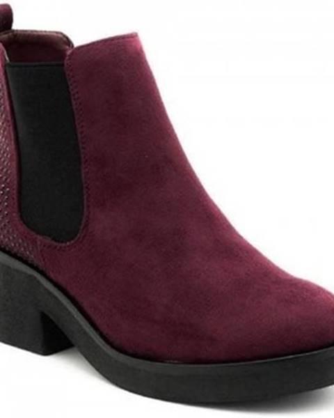 Červené topánky MTNG