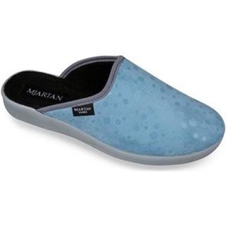 Papuče  Dámske modré papuče  IVANKA