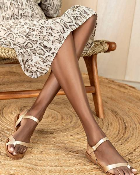 Béžové sandále musk