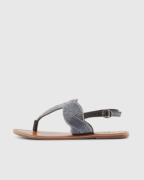 Čierne topánky Pieces