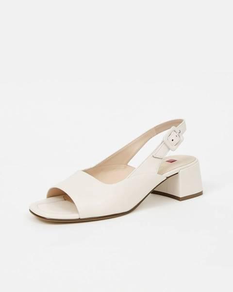 Krémové topánky Högl