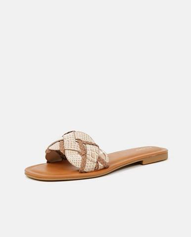 Krémové papuče Aldo