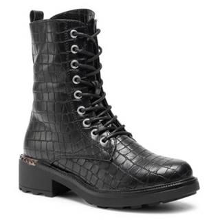 Šnurovacia obuv Jenny Fairy WS5165-10 Imitácia kože/-Imitácia kože