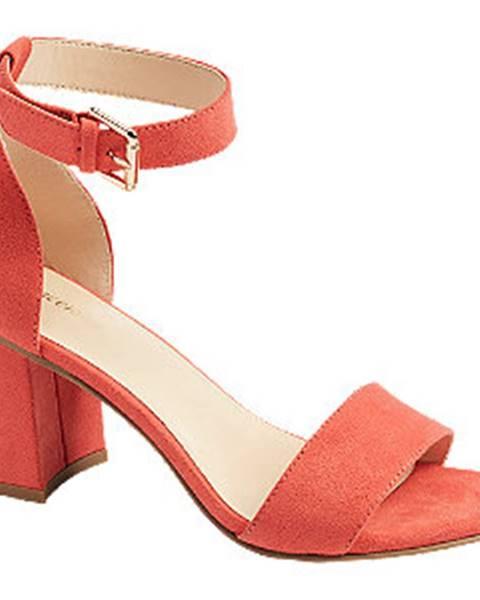 Oranžové sandále Graceland