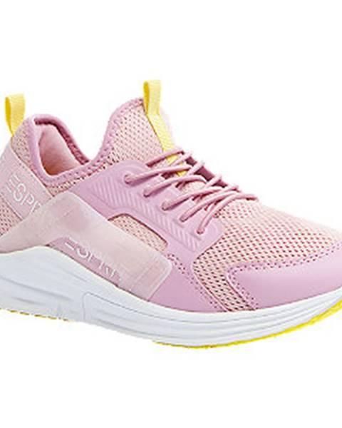 Ružové tenisky Esprit