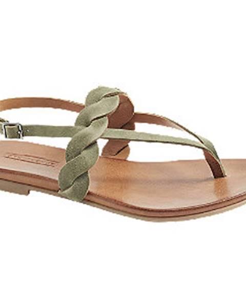 Zelené sandále 5th Avenue