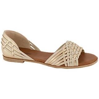 Béžovo-zlaté sandále Graceland