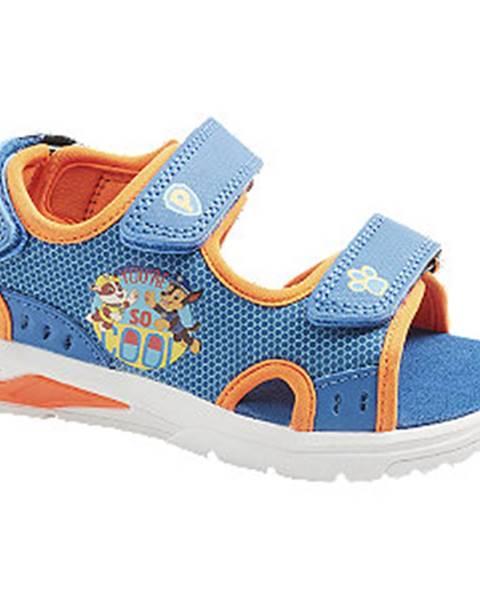 Modré sandále Paw Patrol
