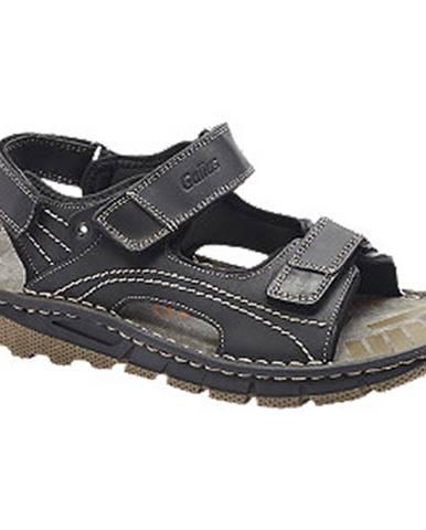 Čierne sandále Gallus