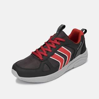 Červeno-šedé pánske tenisky SAM 73
