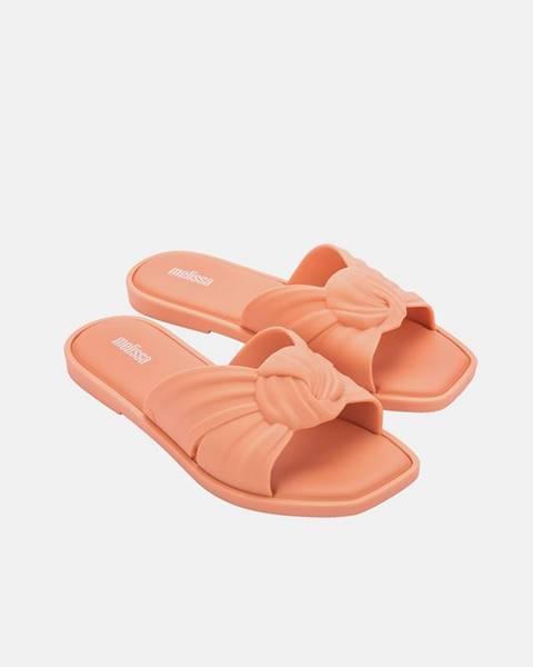 Oranžové papuče Melissa